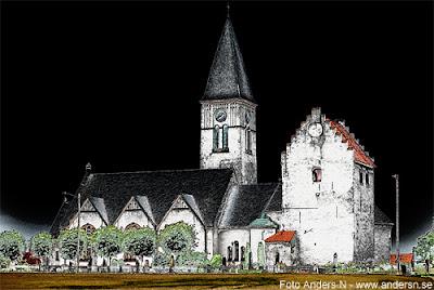 valleberga kyrka, österlen, kastal, skånsk kyrka, skåne, foto anders n