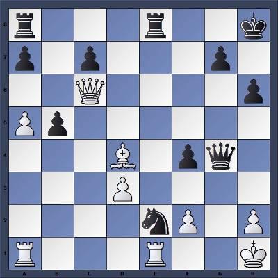 Echecs & Tactique : Les Noirs jouent et gagnent en 4 coups