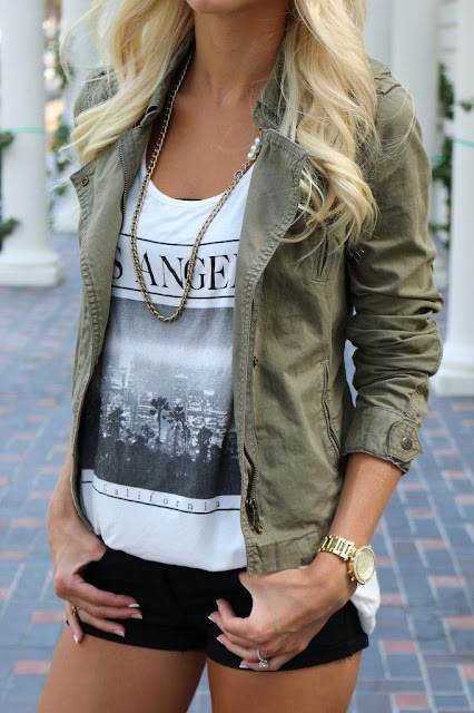 Fabulous Army Green Jacket