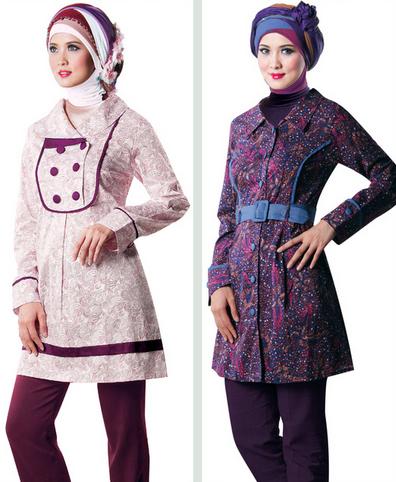 15 Contoh Gambar Baju Gamis Muslim Terpopuler 2015
