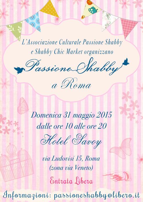 Passione Shabby Roma 31 maggio 2015