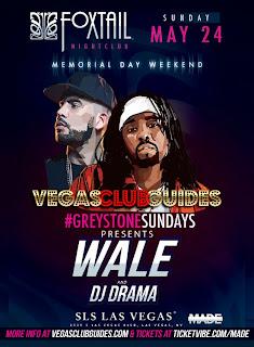 Wale Memorial Weekend 2015 Las Vegas