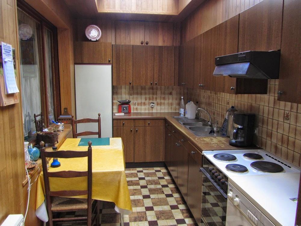 Ons occasiehuisje.: de evolutie van de keuken/aanbouw.