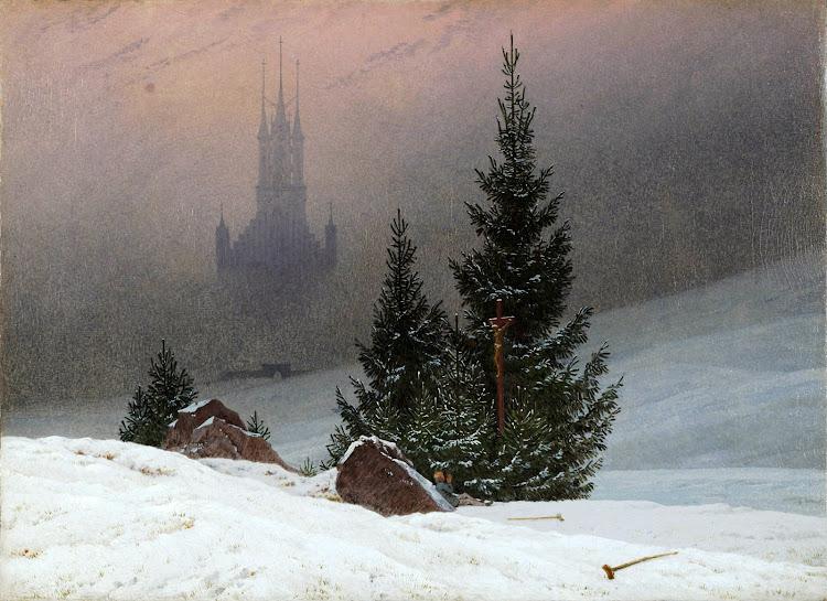 Caspar David Friedrich - Winter Landscape