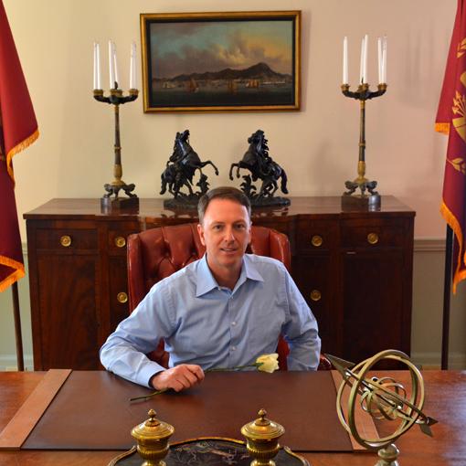 Swan House Capitol Tour | Travis at President Snow's Desk | Atlanta History Center