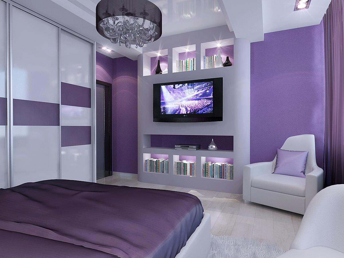 Дизайн спальни для молодых