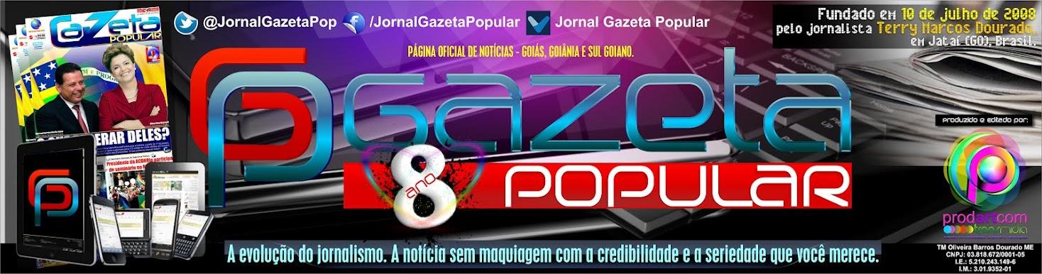 Página Oficial da Gazeta Popular On-Line