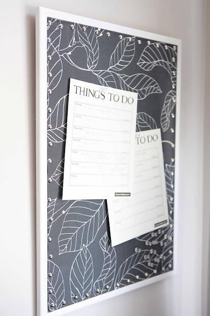 Fabric Cork Board Ideas