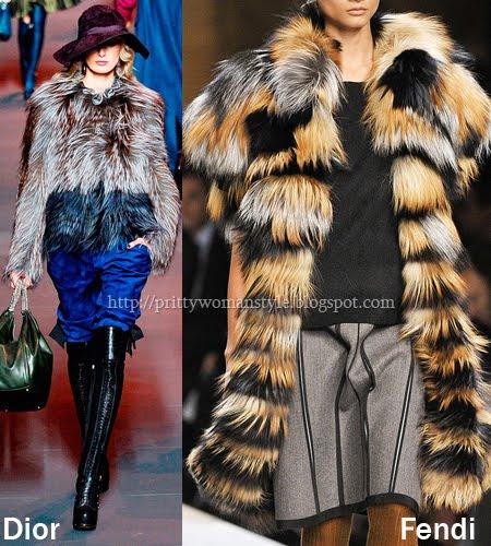 обемни кожени палта мода зима 2012