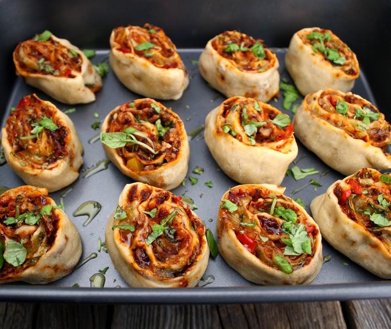 Oppskrift Veganske Pizzasnurrer Tofubacon Facon Kjøttfri Bacon Ruccola