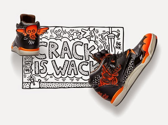 Keith Haring for Reebok Fall/Winter 2014