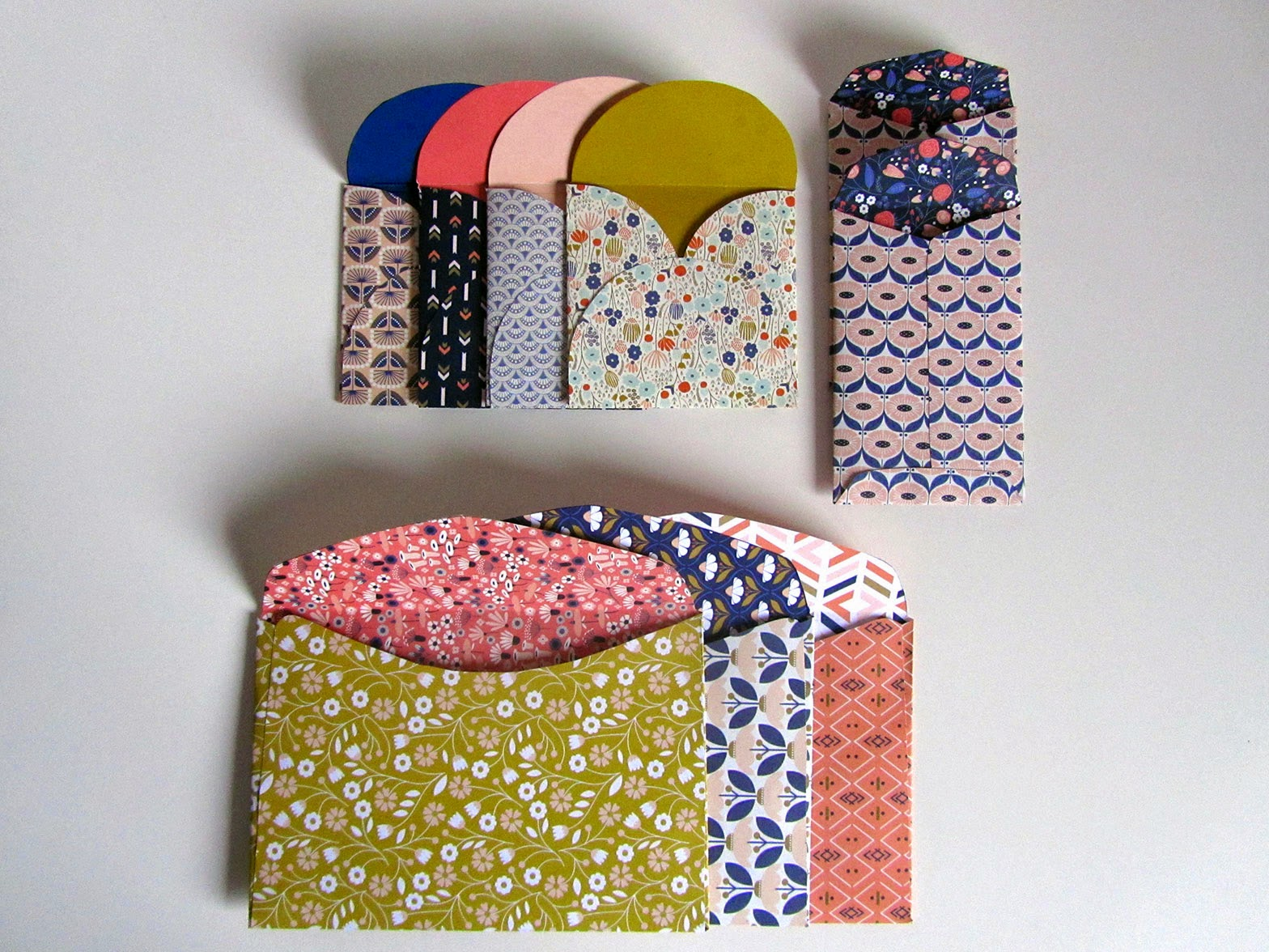 all folded envelopes