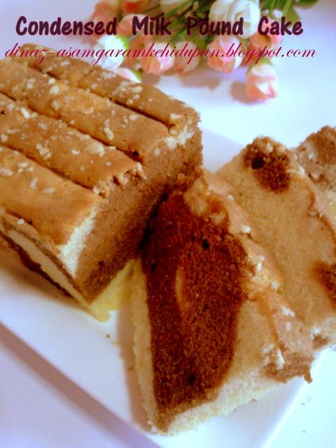 Condensed Milk Pound Cake Mat Gebu