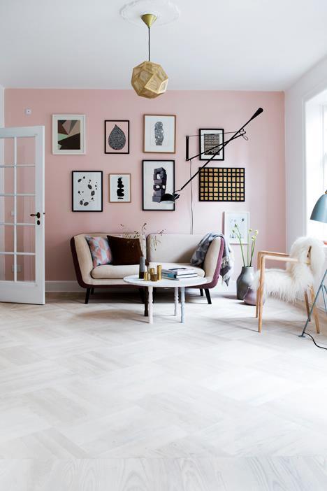 Pretty, Pastel Living Room // Красива пастелена всекидневна