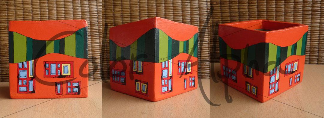 Color alpha macetas pintadas cubos de fibrocemento pintados - Macetas fibrocemento ...