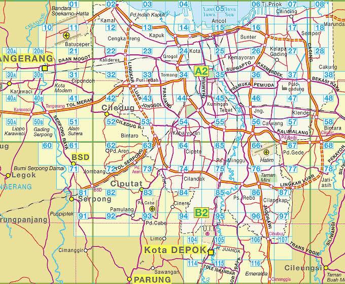 Seperti Kota Kota Dibawah Ini Jabodetabek Jakarta Barat Jakarta ...