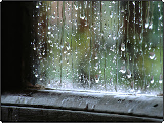 lluvia en la ventana