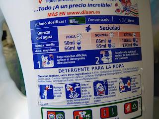 instrucciones, detergente, lavadora, ahorro, suavizante