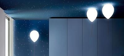 foto lámpara dormitorio niños