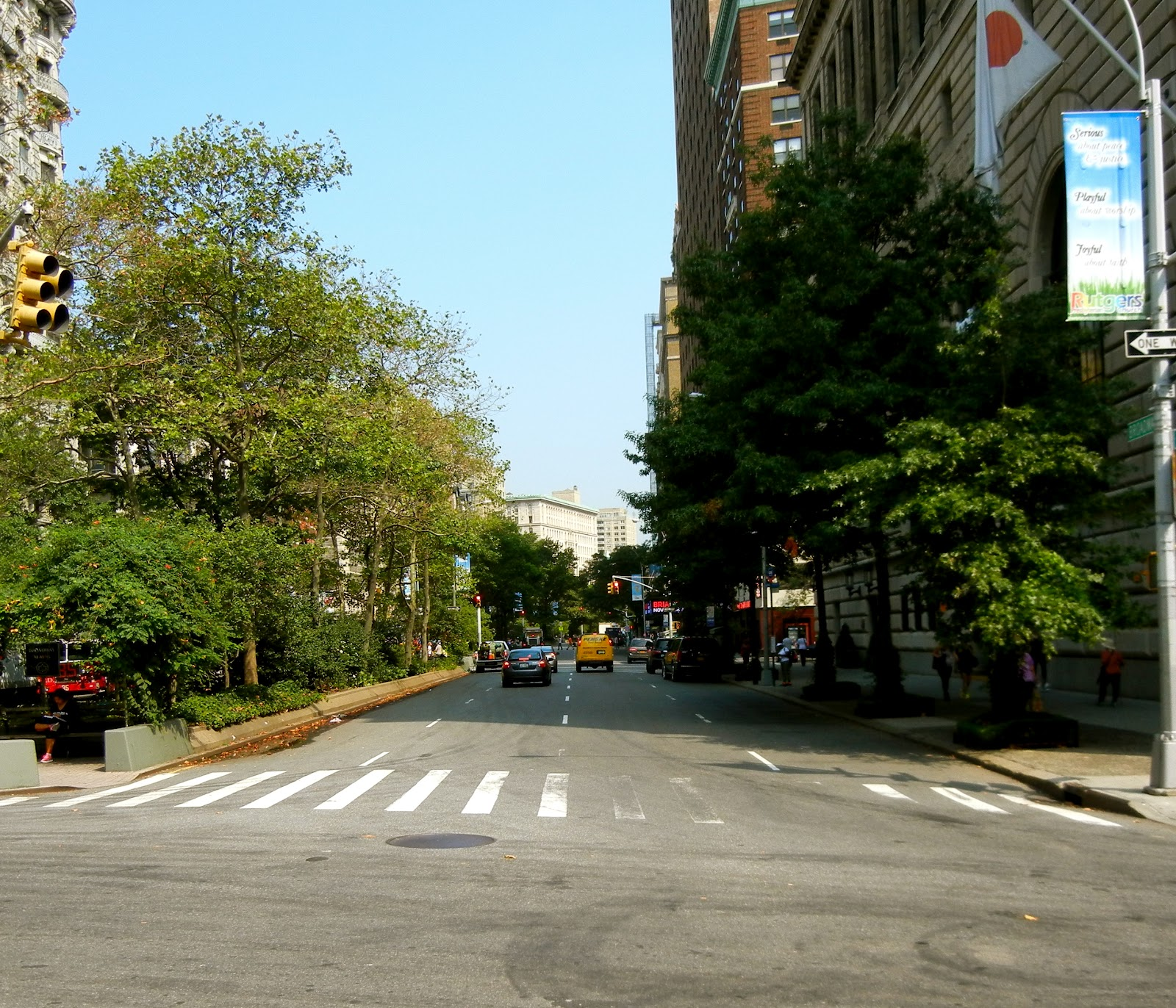 few shots of our daughter's UWS neighborhood as we headed out
