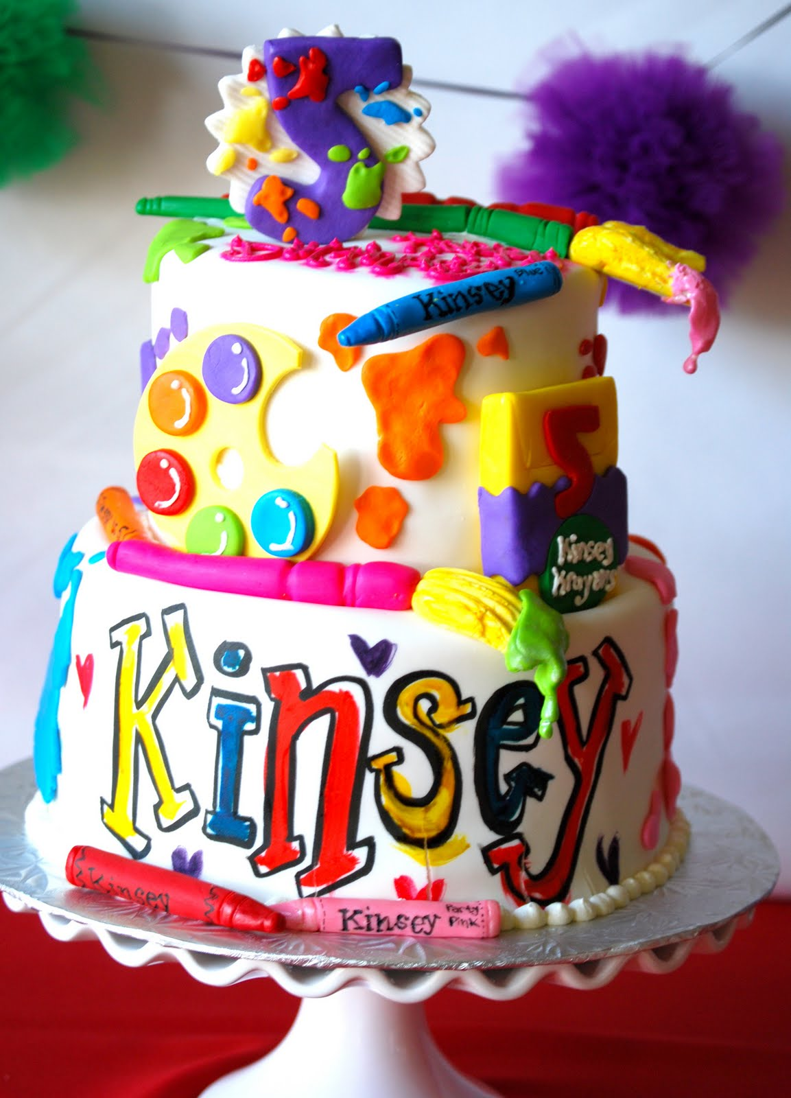 Dream Love Design Amp Inspire Kinsey S 5th Birthday