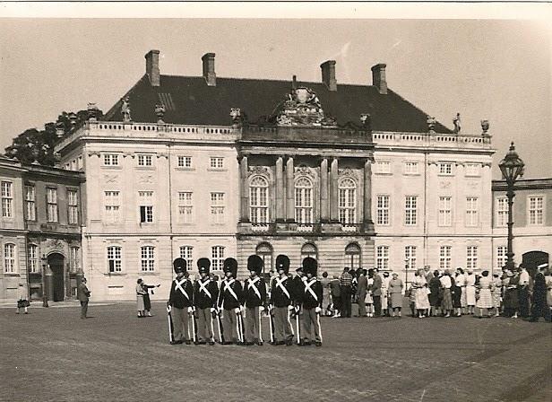 Amalienborg palace 1950s