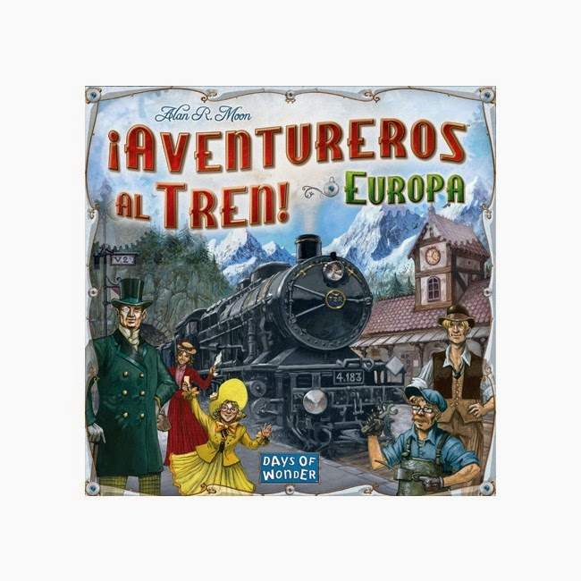 [Reseña] ¡Aventureros al tren! Europa JdM