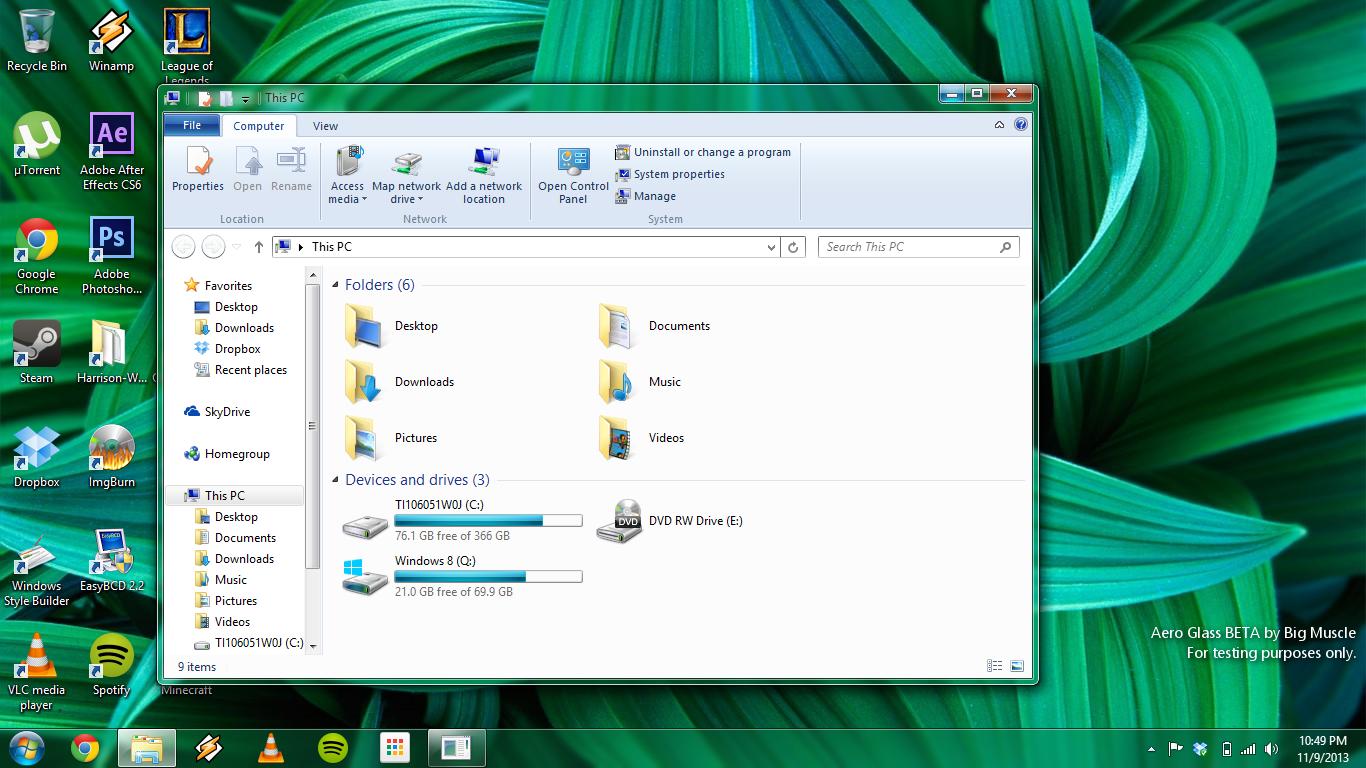 Как сделать windows 7 в стиле windows xp