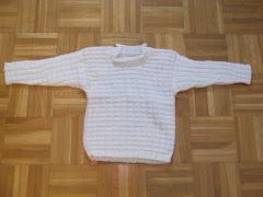 sima kötött gyerek pulcsi