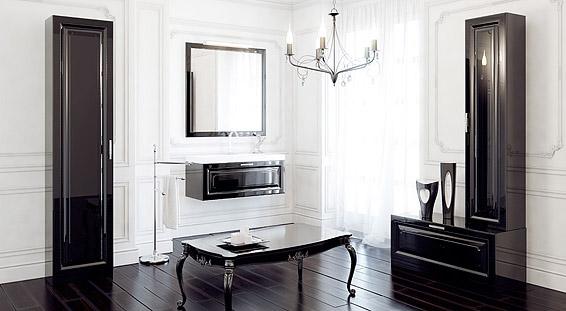 Сантехника на фото: мебель Aqwella Empire для ванной комнаты