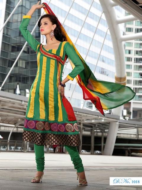 Designer Anarkali Salwar Kameez, Fancy Embroidery Anarkali Salwar Suits in Faridabad