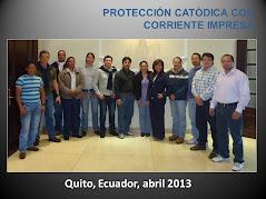QUITO, ECUADOR, ABRIL 2013