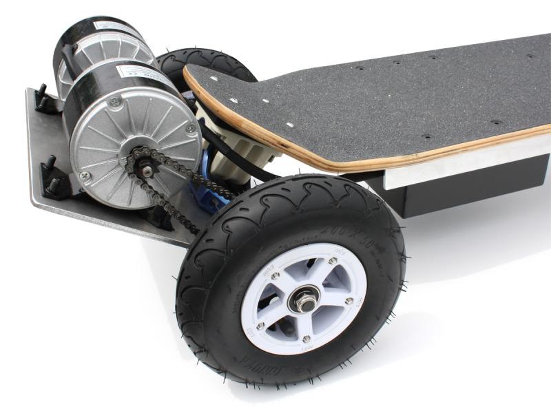 Wackyboards Gnarboards 4wd Electric Skateboard