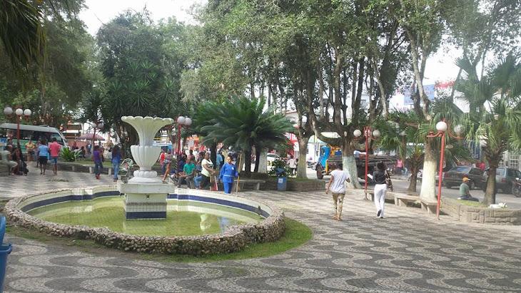 Serrinha:Água parada em plena praça Luiz Nogueira é o principal foco do mosquito da dengue