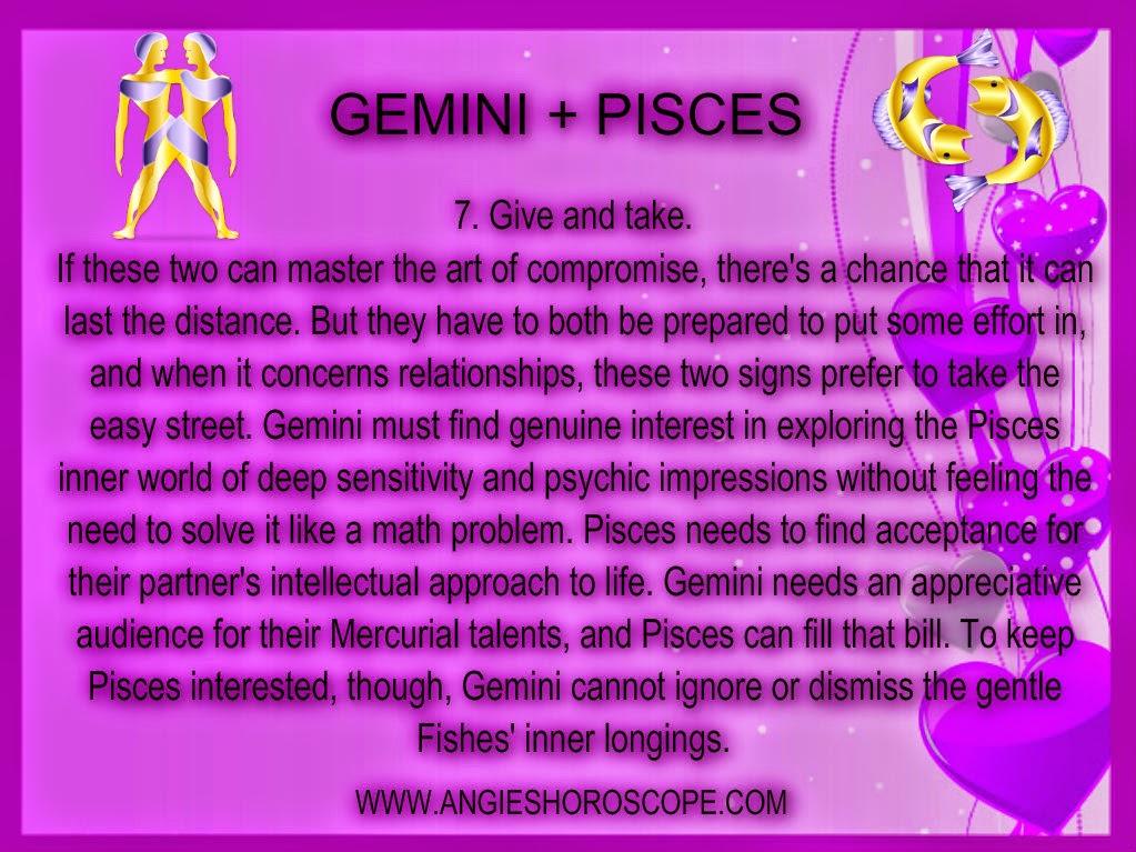 Pisces man gemini woman sexually pics 20