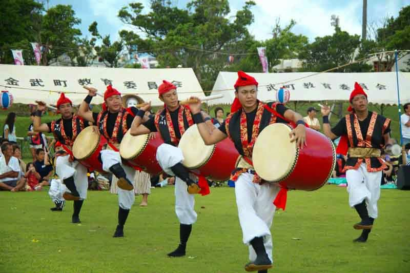 drummers, Eisa Dance,costumes,festival