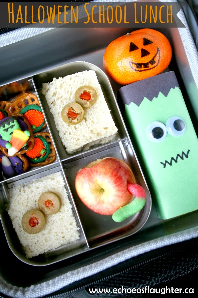 Charlys Room Easy Halloween School Lunch