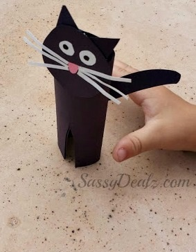 Easy Black Cat Toilet Paper Roll Craft For Kids Crafty