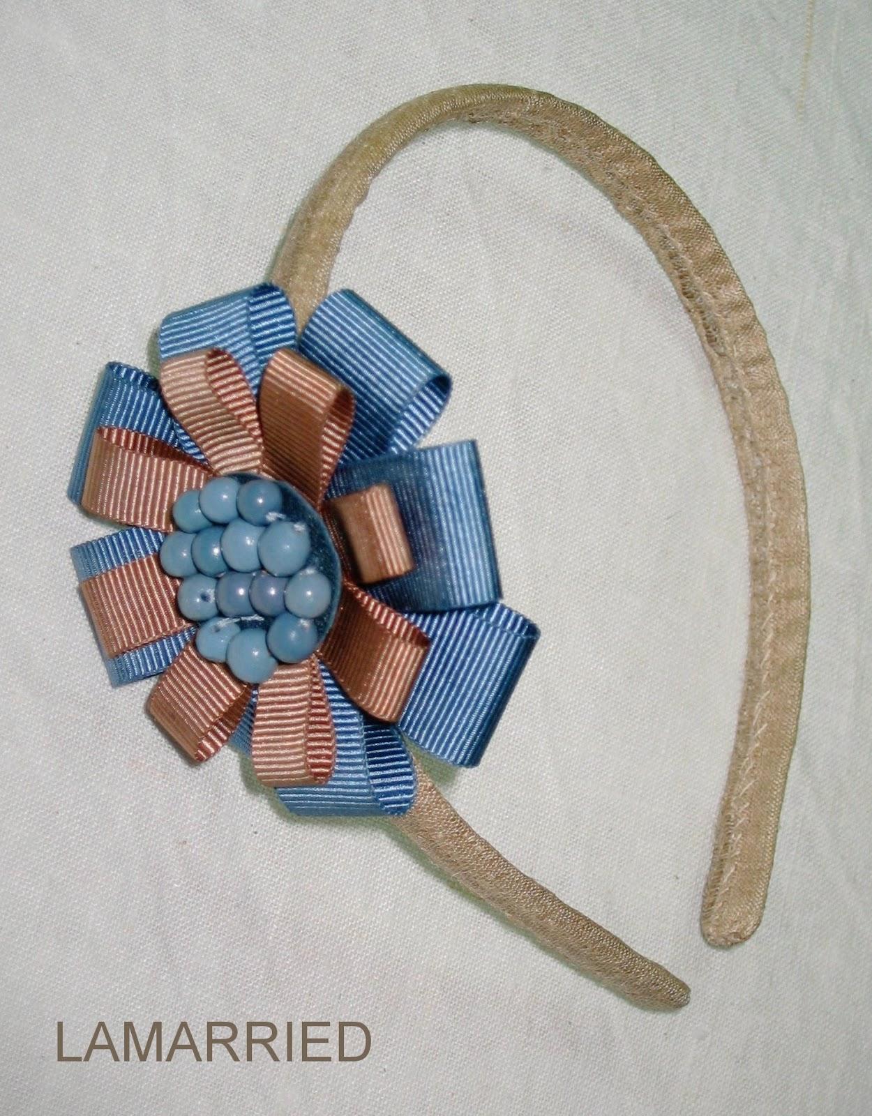 Lamarried seda cintas y cer mica para una diadema - Sedas para unas ...