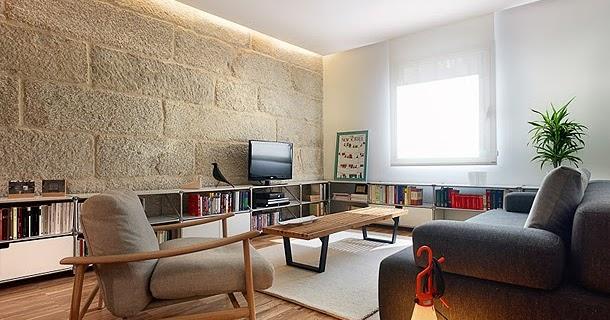 Ilia estudio interiorismo apartamento 65 m2 en vigo donde el interiorismo combina madera - Interiorismo vigo ...