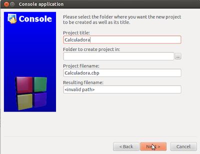 Nome do projeto: calculadora