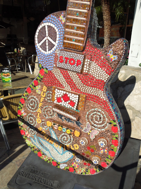 Mosaic Guitar Julianna Martinez 2012