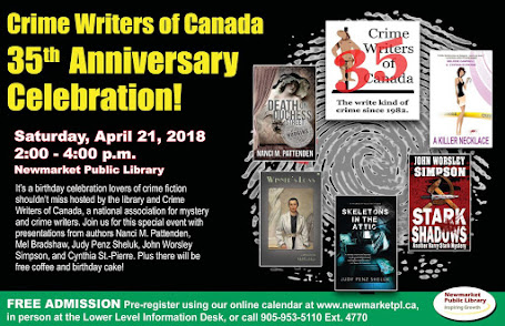 Co-author Cynthia Will Represent at Newmarket Public Library