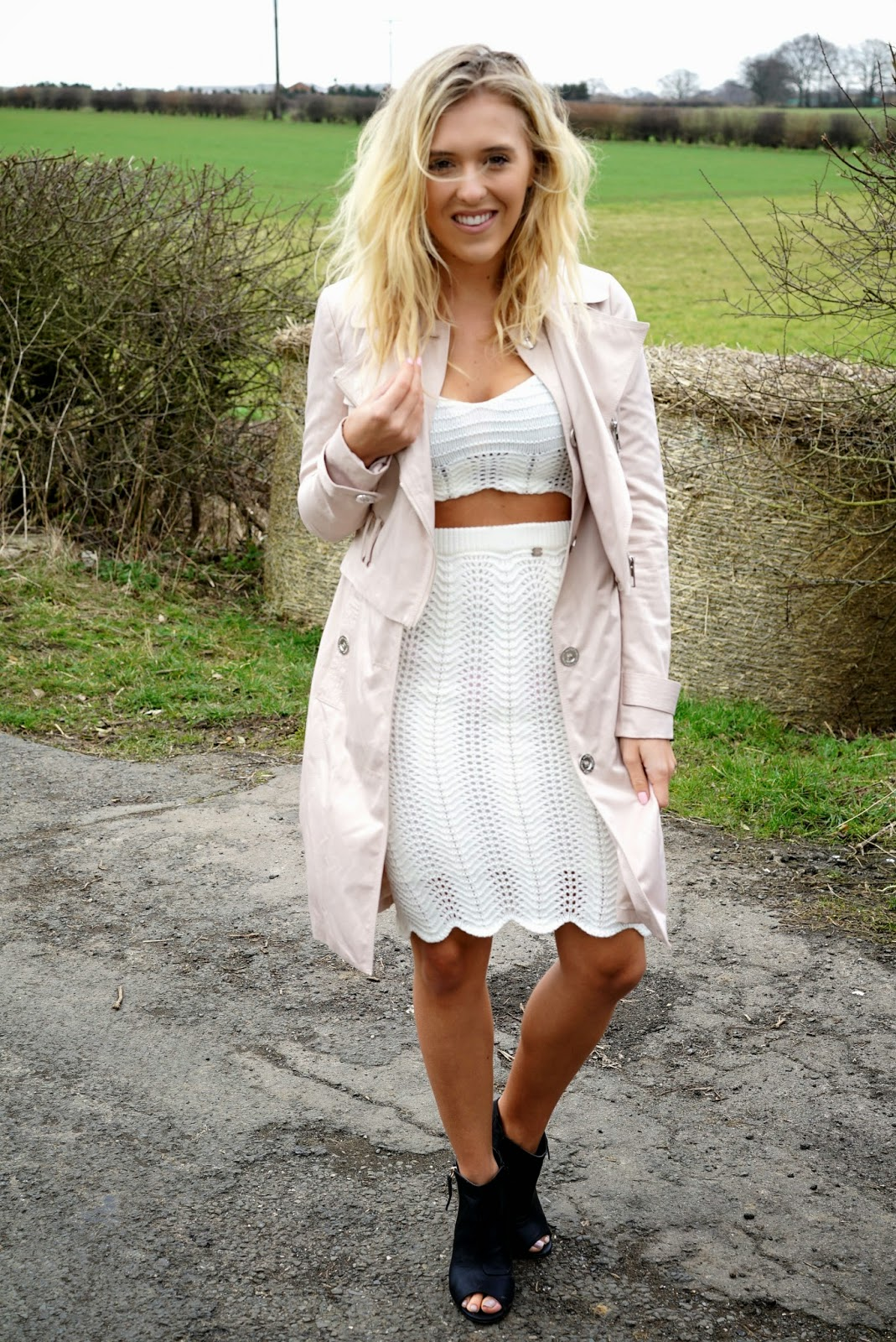 michelle keegan crochet two piece