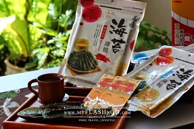 美食商品 | 台湾玉民荞麦海苔薄烧 | 春节商品