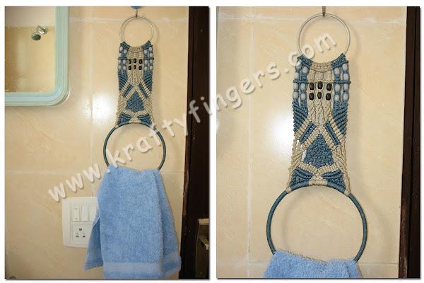 Towel-Hanger-Macrame