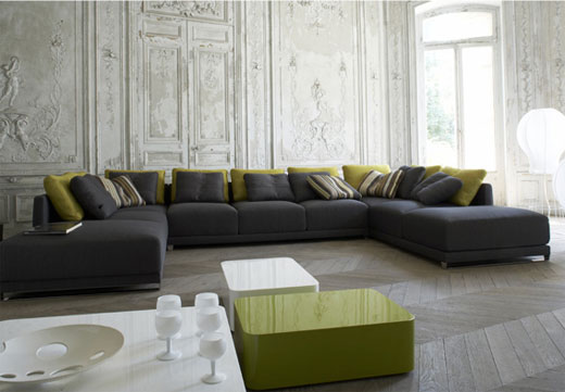 Living Room Furniture With Accent Chairs (4 Image)