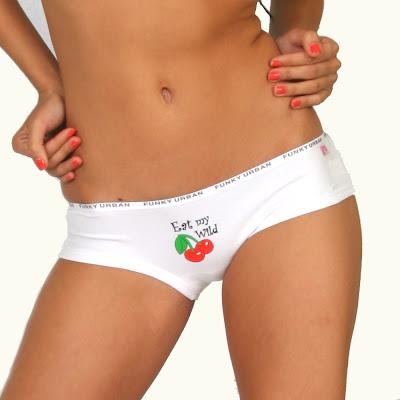 "Eat My Wild Cherries"" panties"