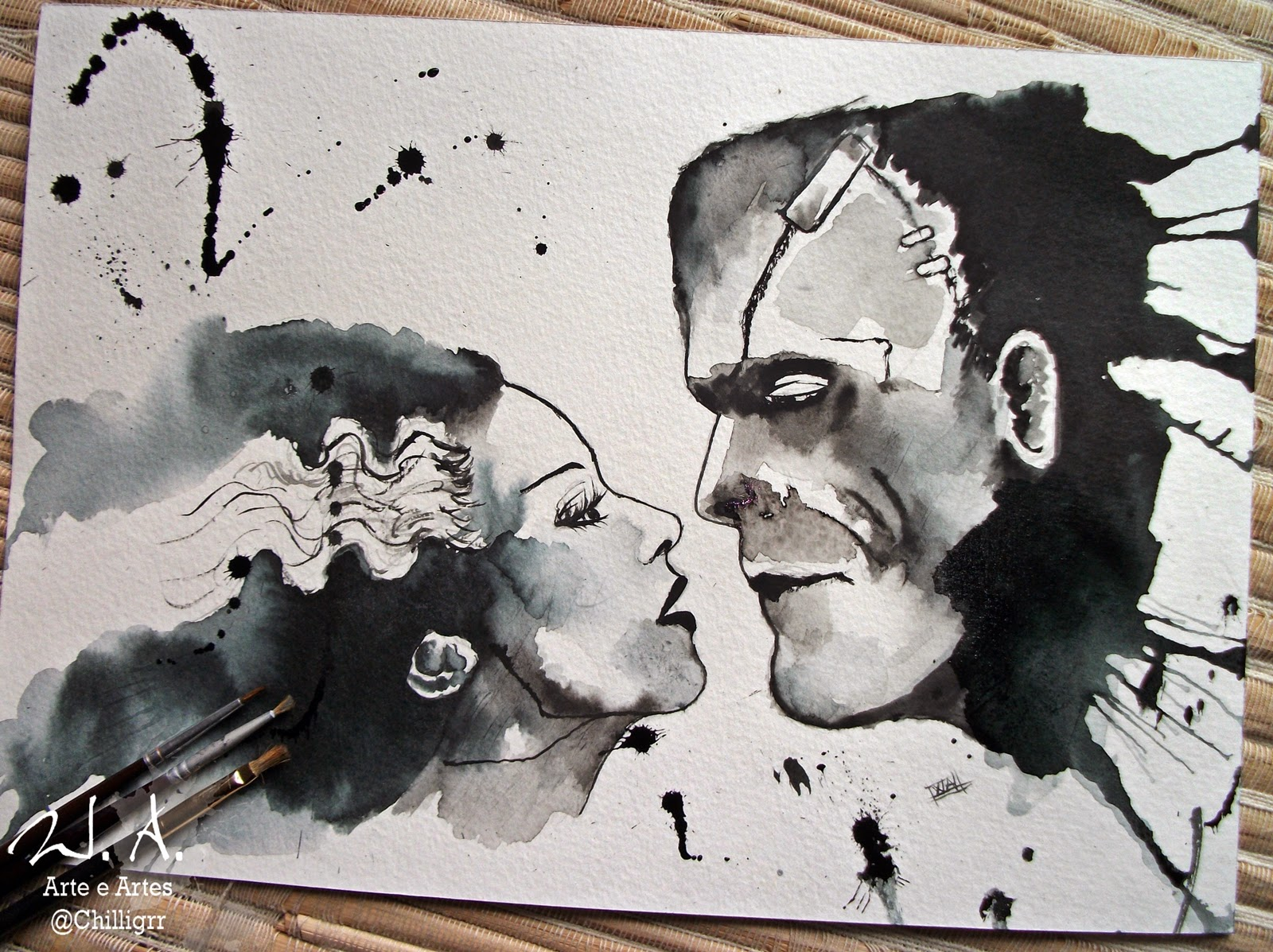frankenstein, mr e mrs frankenstein, bride of frankenstein