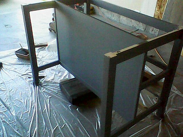 Ikea Free Standing Kitchen Island ~ LDS Mom to Many Paint IKEA Stenstorp Island Black  IKEA Hack